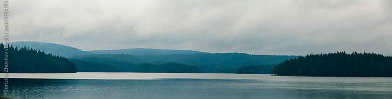 Lake reservoir by Borislav Zhuykov for Stocksy United