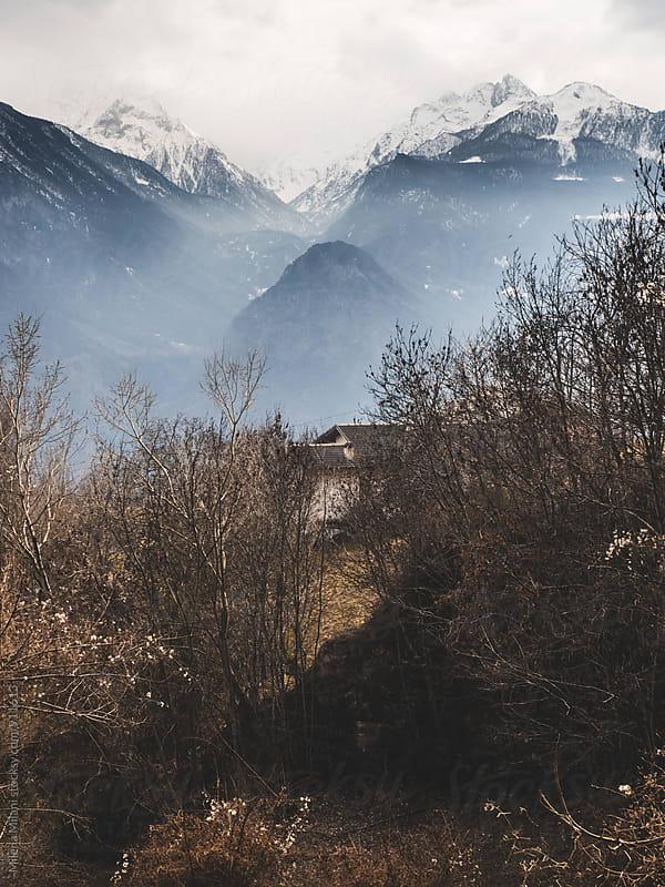 Wintertime in the Alps by Milena Milani for Stocksy United