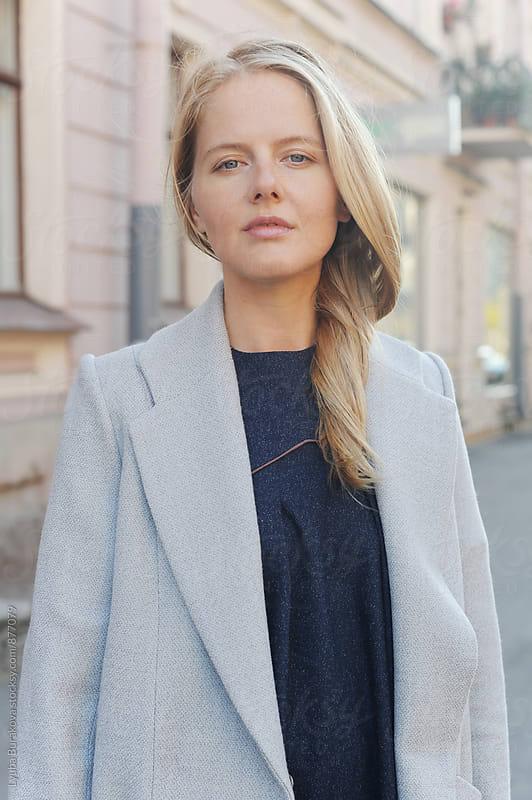 Portrait of a young woman by Lyuba Burakova for Stocksy United