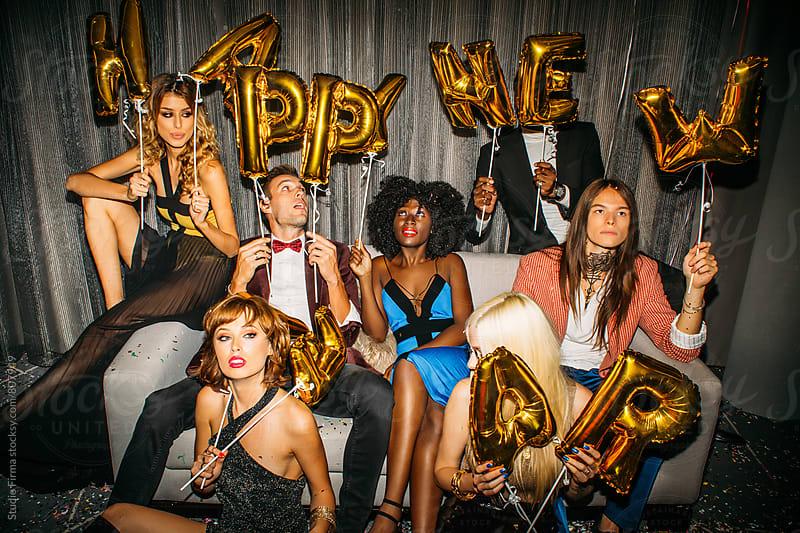 Happy New Year by Studio Firma for Stocksy United