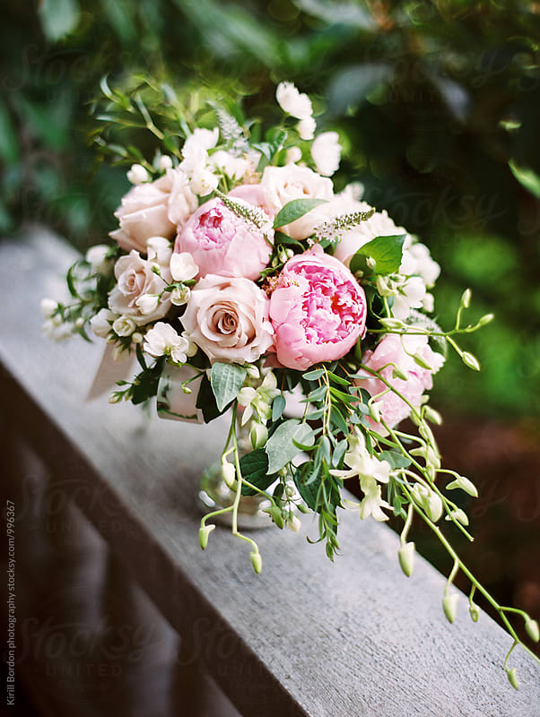 floral centerpiece by Kirill Bordon photography for Stocksy United