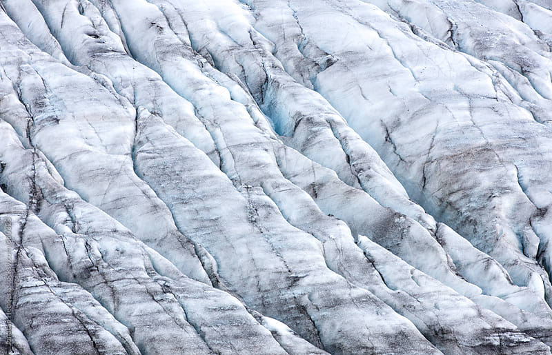 Glacier ice details by Jonatan Hedberg for Stocksy United