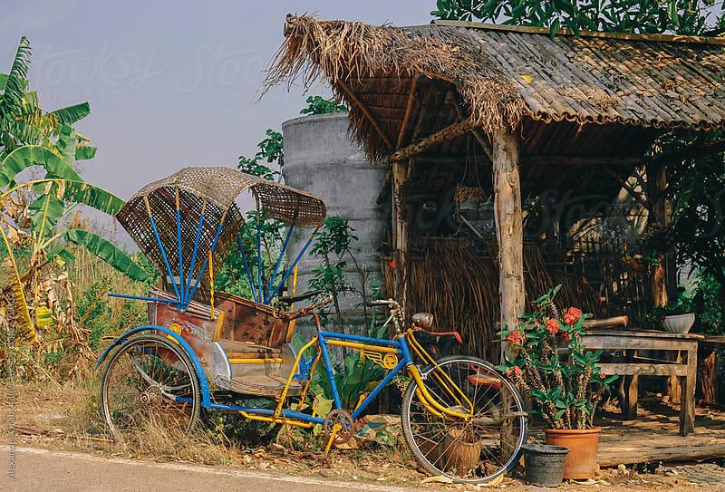 Trishaw, Thailand by Alexander Grabchilev for Stocksy United