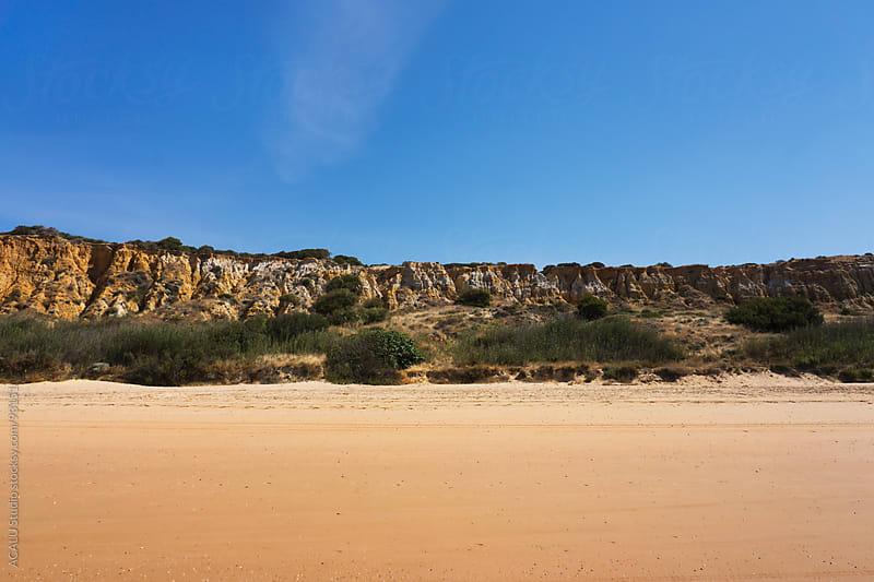 Cliff in Doñana, Huelva by ACALU Studio for Stocksy United