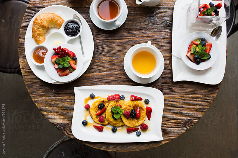 Colorful breakfast by Jovana Rikalo for Stocksy United
