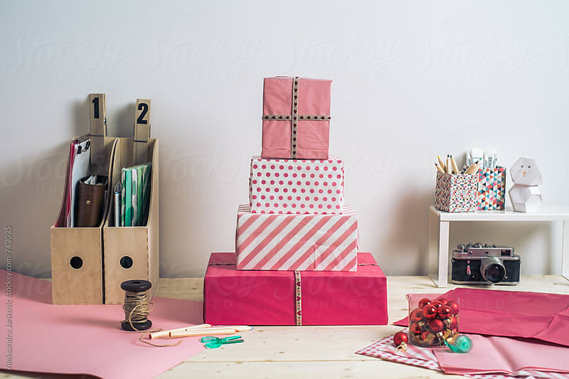 Gift Wrapping by Aleksandra Jankovic for Stocksy United