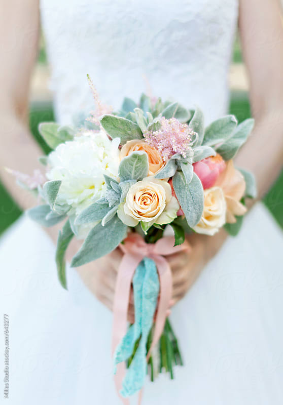 Bride and Bouquet by Milles Studio for Stocksy United