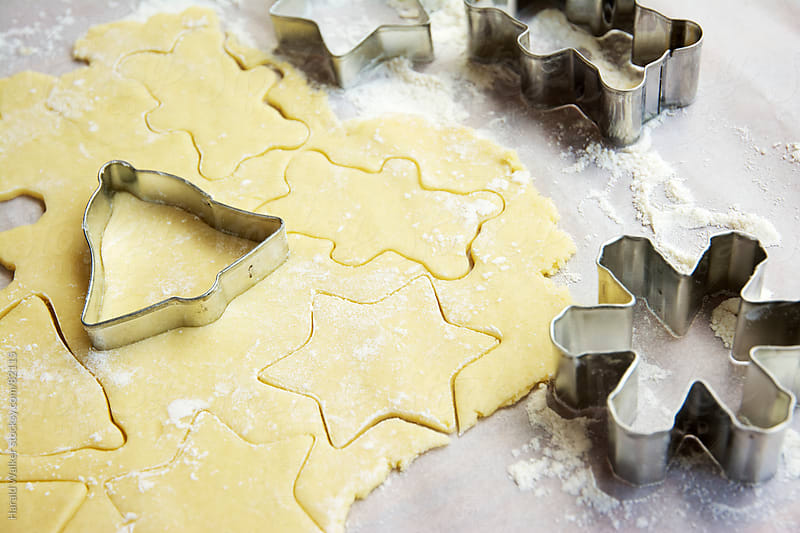 Making Christmas cookies by Harald Walker for Stocksy United