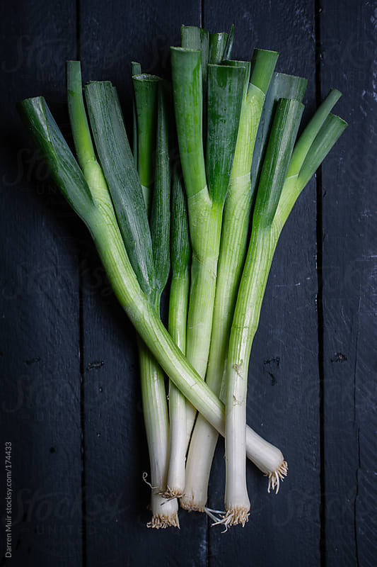 Spring onions.  by Darren Muir for Stocksy United