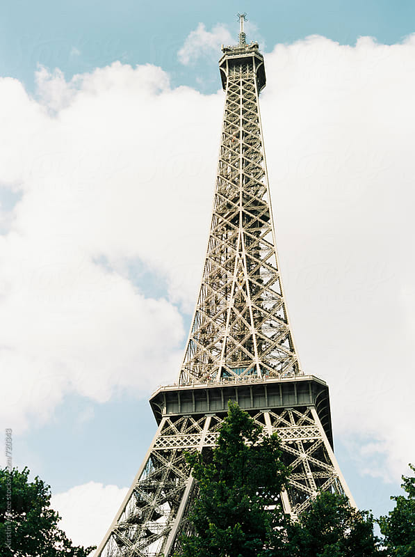 Eiffel Tower, France by Kirstin Mckee for Stocksy United