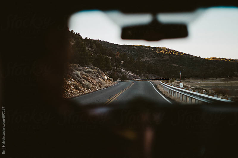 on the open road by Benj Haisch for Stocksy United