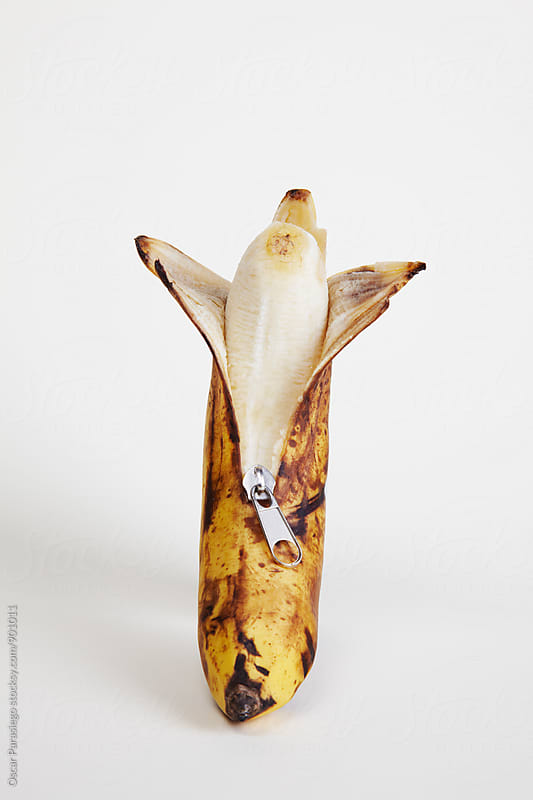 Dirty Old Banana by Oscar Parasiego for Stocksy United