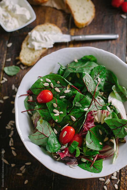 Italian salad by Davide Illini for Stocksy United