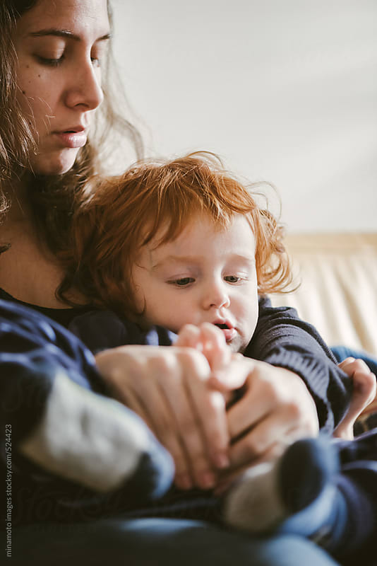 Mother And Son Relaxing  by minamoto images for Stocksy United