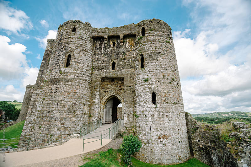 Kidwelly Castle by Jen Grantham for Stocksy United