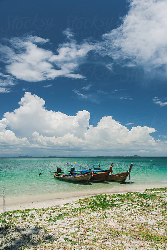 Boat by Chalit Saphaphak for Stocksy United