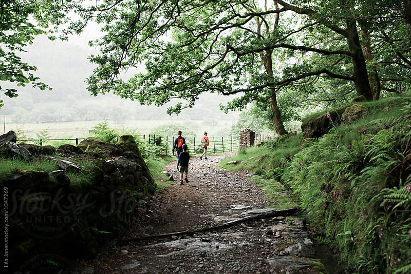 Walk in the Welsh mountains by Léa Jones for Stocksy United
