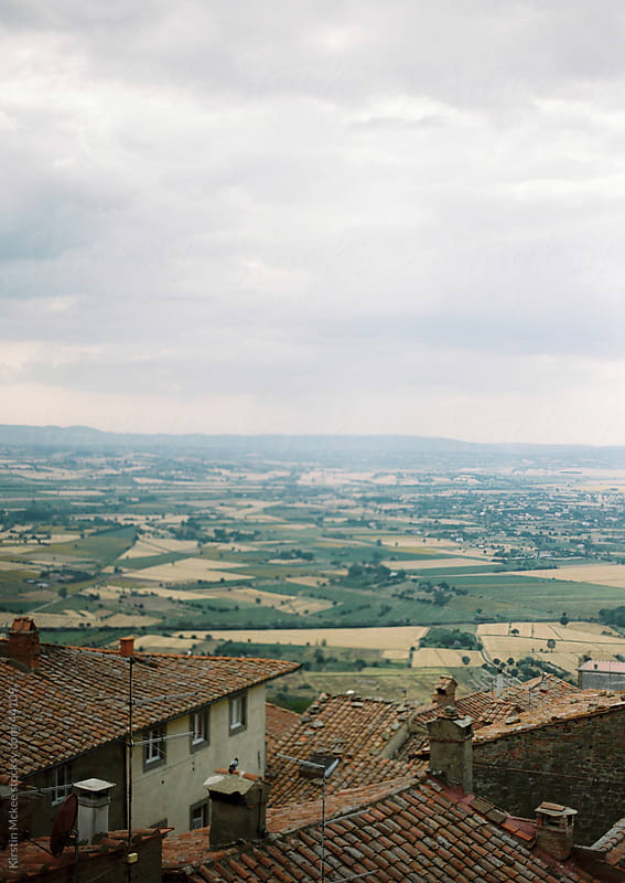 View in Tuscany by Kirstin Mckee for Stocksy United