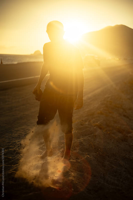 Dusty Sunsets by Christian McLeod Photography for Stocksy United