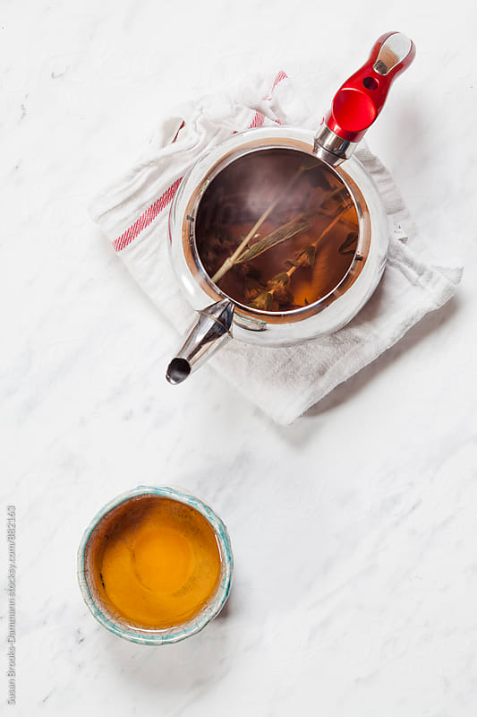 Herbal tea by Susan Brooks-Dammann for Stocksy United