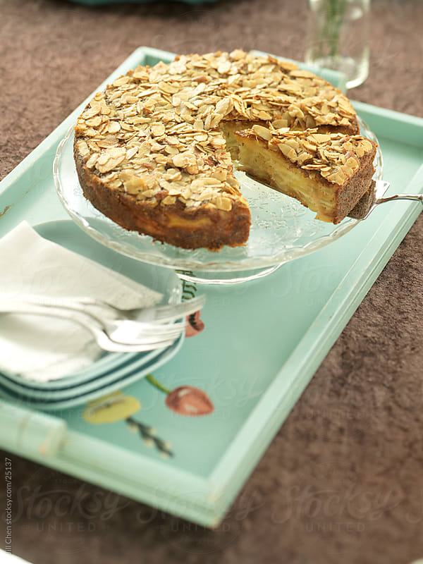Apple Cake by Jill Chen for Stocksy United