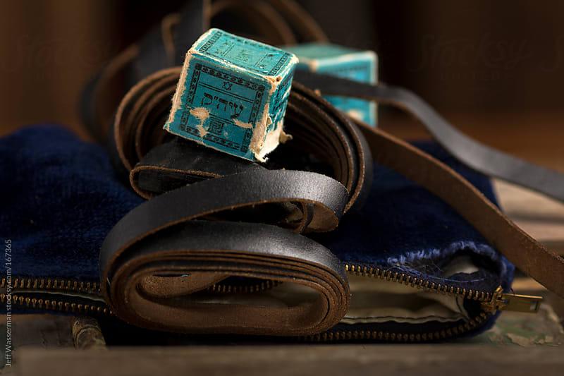 Antique Jewish Tefillin by Jeff Wasserman for Stocksy United