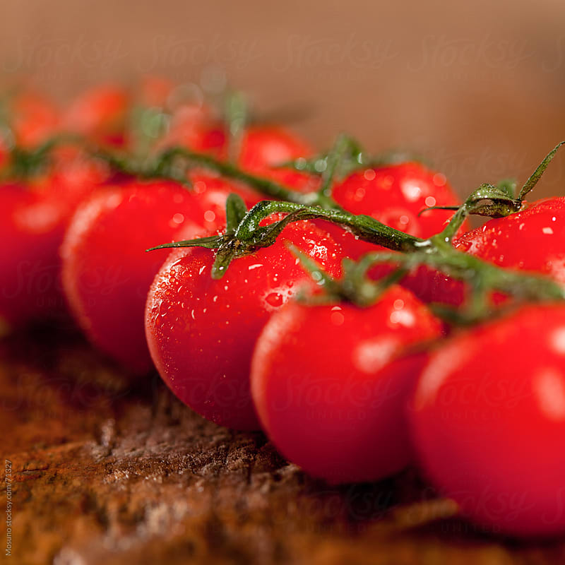 Fresh cherry tomato.  by Mosuno for Stocksy United