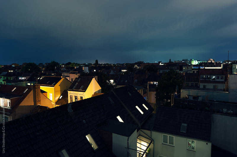 Rooftop Bremen by Urs Siedentop & Co for Stocksy United