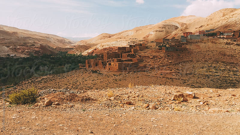 Moroccan village  by Juri Pozzi for Stocksy United