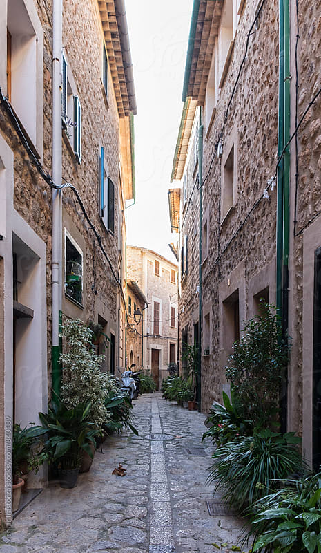 Old streets of Fornalutx by Marilar Irastorza for Stocksy United