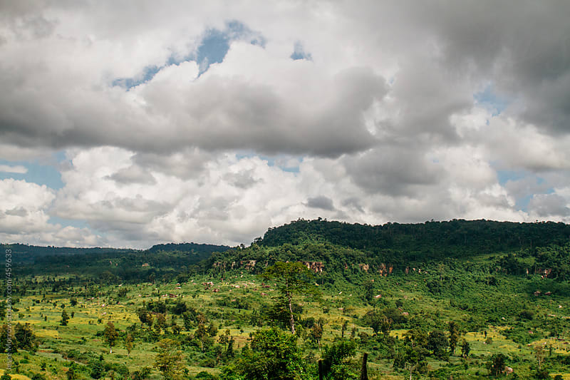Jungle valley in Cambodia by Jesse Morrow for Stocksy United