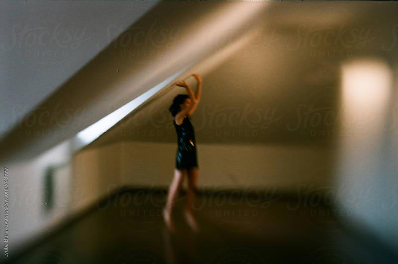 Woman dancing in a loft  by Lyuba Burakova for Stocksy United