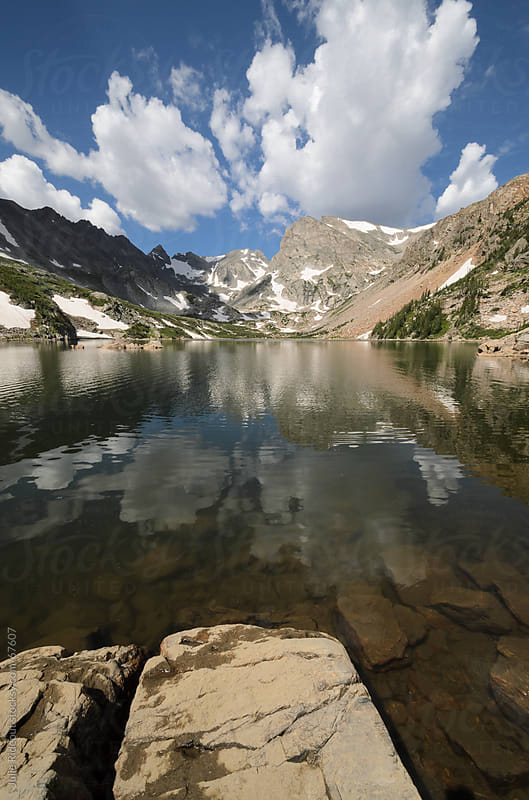 Lake Isabelle, Indian Peaks Wilderness, Colorado by Julie Rideout for Stocksy United