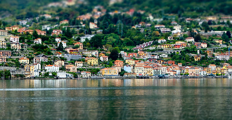 Village on the shore of Lake Como by Gary Radler Photography for Stocksy United