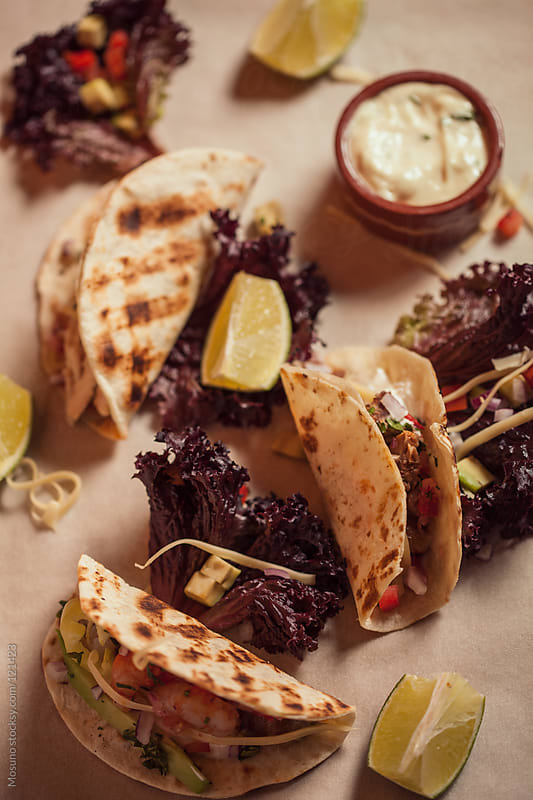 Mexican Tacos by Mosuno for Stocksy United