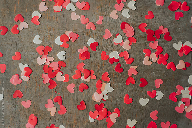 valentine cards by Melanie DeFazio for Stocksy United