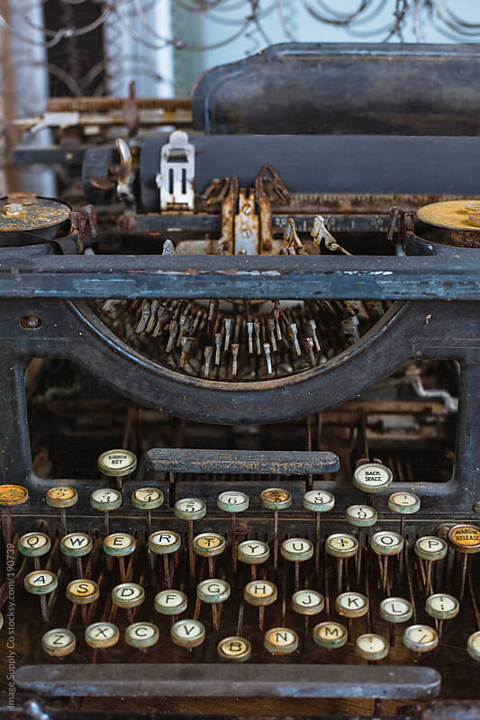 Antique typewriter by Image Supply Co for Stocksy United