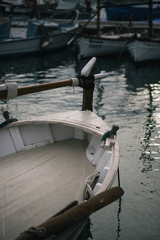 details of old boat by Javier Pardina for Stocksy United