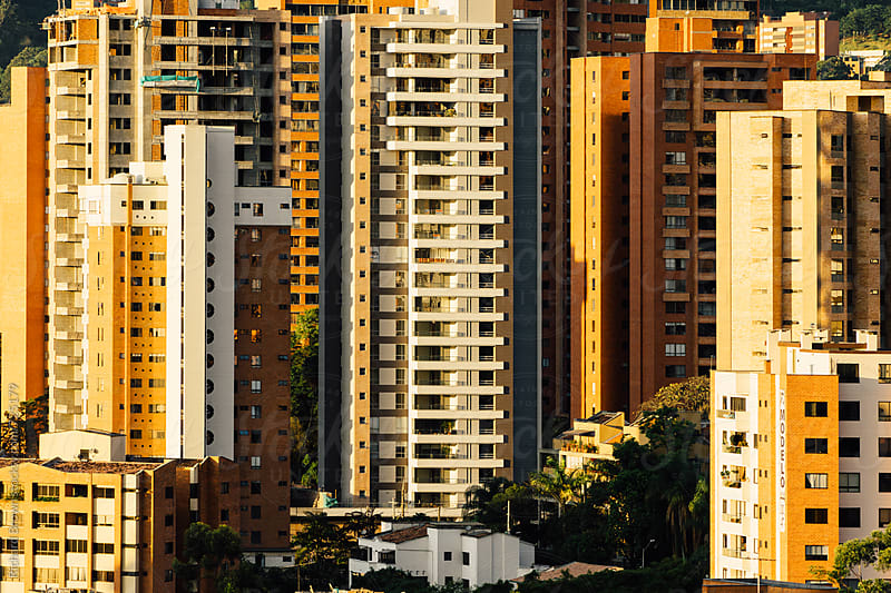 Medellin Cityscape by Richard Brown for Stocksy United