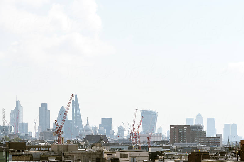 City of London Skyline by James Tarry for Stocksy United