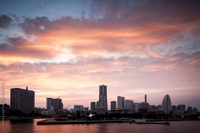 Skyline Of Yokohama, Japan by minamoto images for Stocksy United