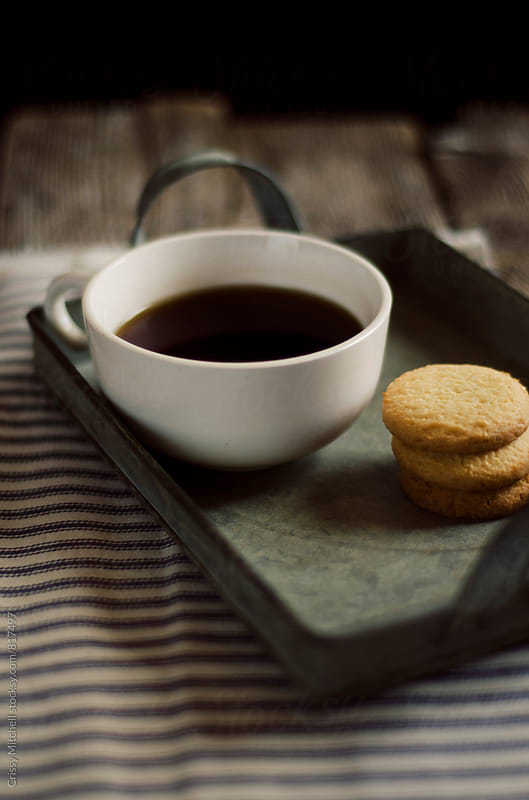 coffee and cookies by Crissy Mitchell for Stocksy United