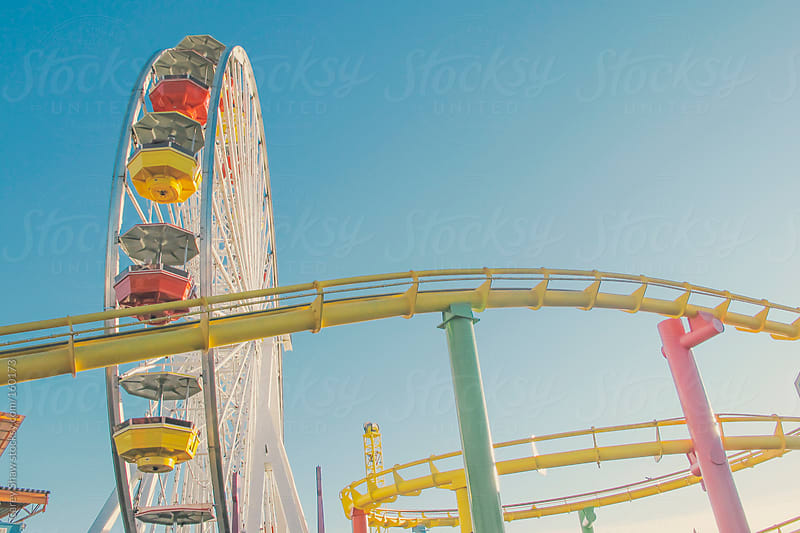 Amusement park by Carey Shaw for Stocksy United