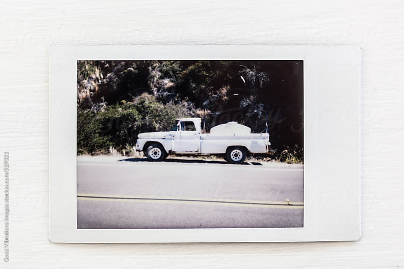 Printed picture of an Old Pick-up in California by Good Vibrations Images for Stocksy United