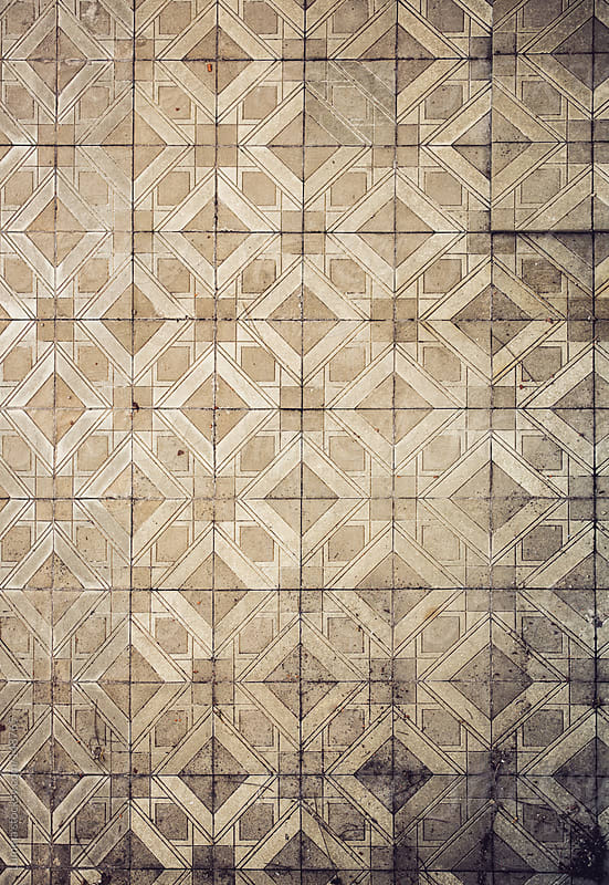 Old Tile Background by Lumina for Stocksy United