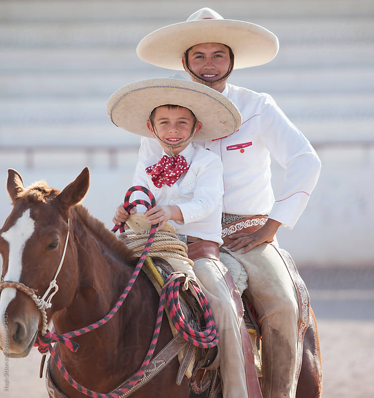 Mexican Cowboys. Mexico by Hugh Sitton for Stocksy United