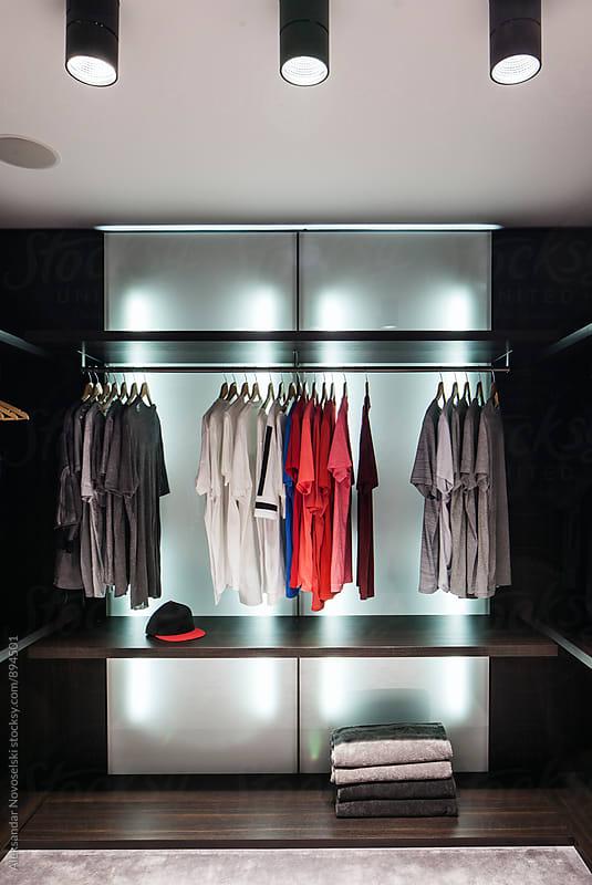 Modern dressing room by Aleksandar Novoselski for Stocksy United