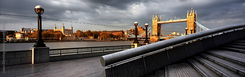 Tower Bridge and the Tower of London by Jason Denning for Stocksy United