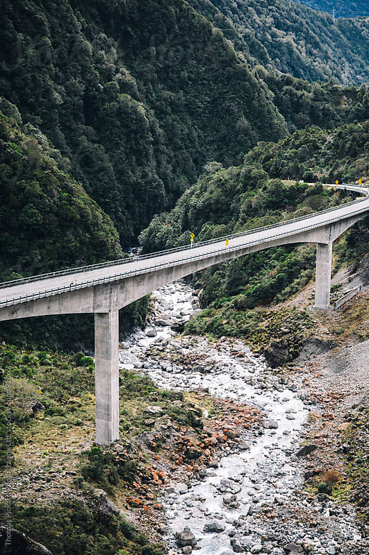 The Viaduct, Arthur's Pass National Park, New Zealand. by Thomas Pickard for Stocksy United