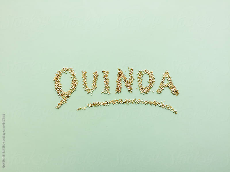 Organic quinoa. by BONNINSTUDIO for Stocksy United